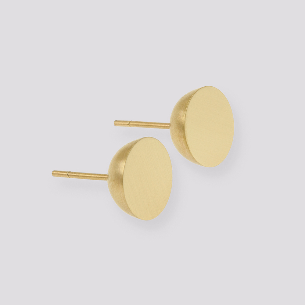 Gold 11mm hemisphere studs  1