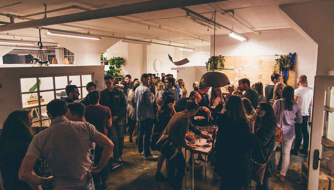 Growth | Our first online issue was launched in Durban with an evening of stories, music and cake. Photograph: Tim Batchelder