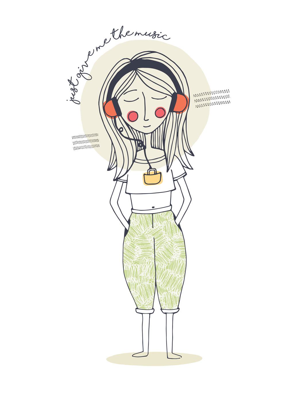 Earphone illustration 3 web